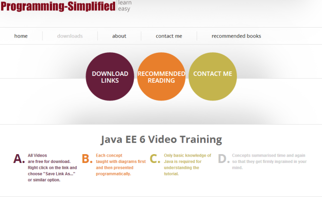 http://programming-simplified.com/java_ee_6_video_training.html